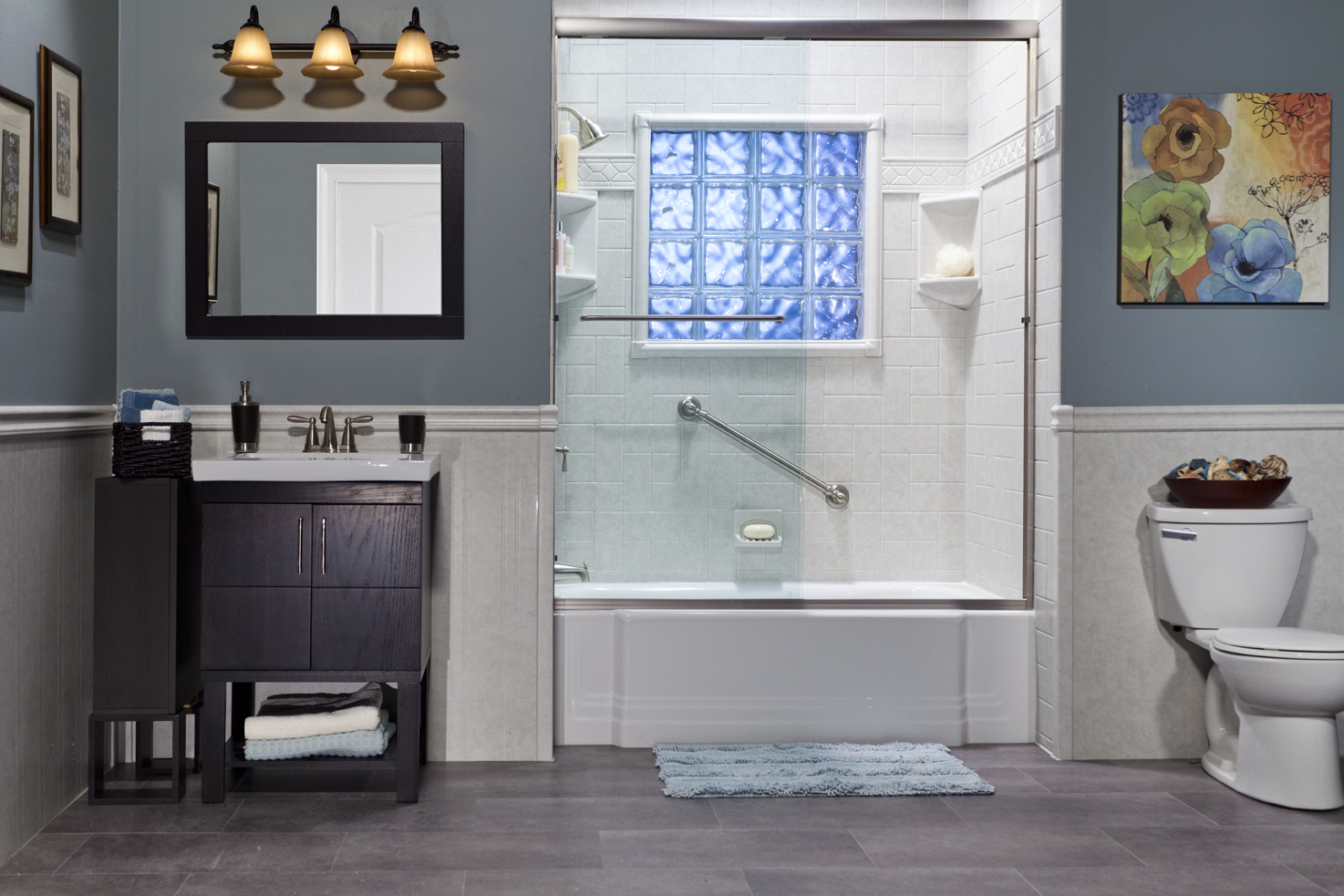 Sure-fit® Bath & Kitchen - Premium Acrylic Seamed & Seamless Wall ...