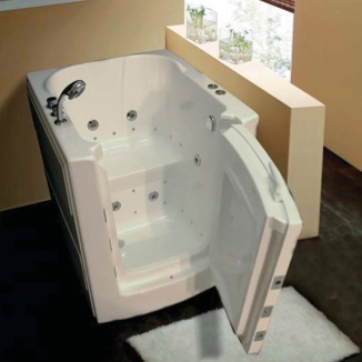 Used Walk In Bathtub. The Walk In Bathtub 32x38 is constructed of the highest quality industrial  strength arcylic for beauty and durability perfect replacing Sure fit Bath Kitchen Welcome